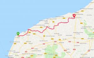 Étretat - Offranville à vélo